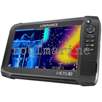 Lowrance HDS-9 Carbon Mid/High/3D Povoljno