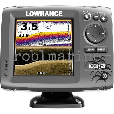 Lowrance HOOK-5x Mid/High/DownScan Povoljno