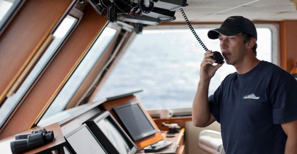 VHF primopredajnik|Roblmarine