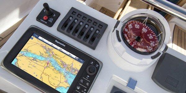 Nautischen Geräten und Elektronik Vertrieb marine